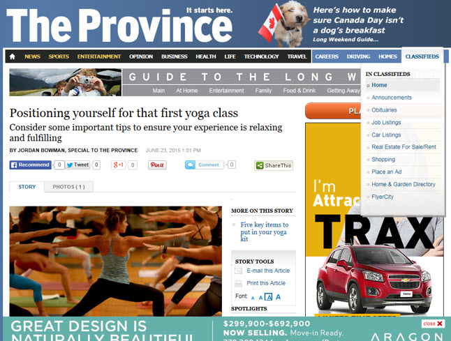 province editorial