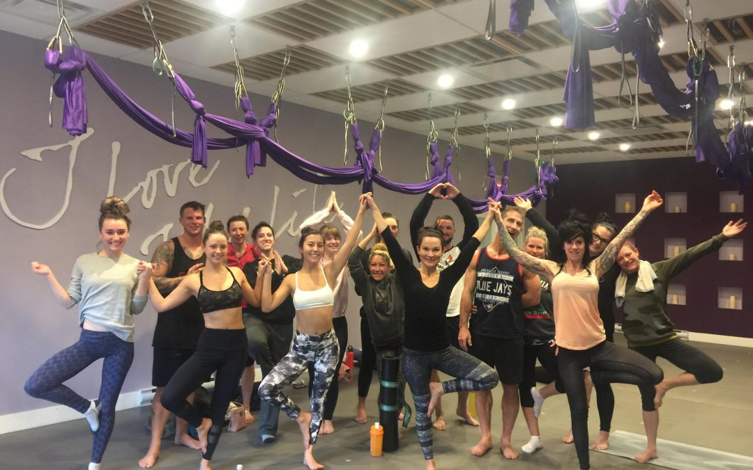 24 Day Holiday Challenge Cloverdale Fitness Class Recap!