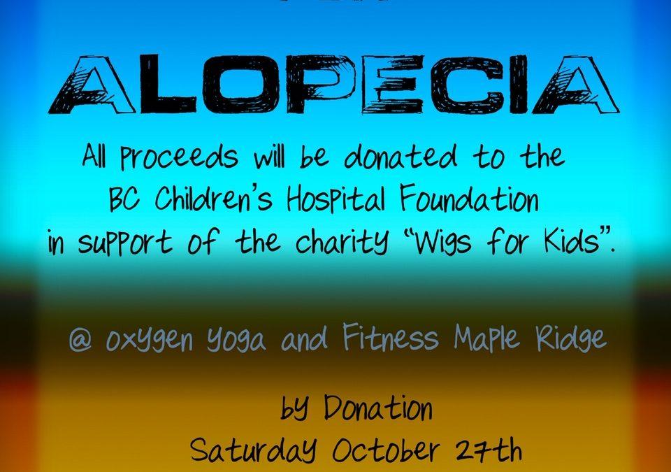 Arm Balance Fundraiser at Maple Ridge Oxygen