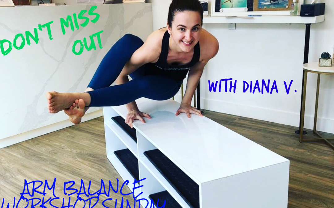 Midtown Toronto Arm Balance Workshop