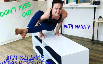 Midtown Toronto Arm Balance Workshop
