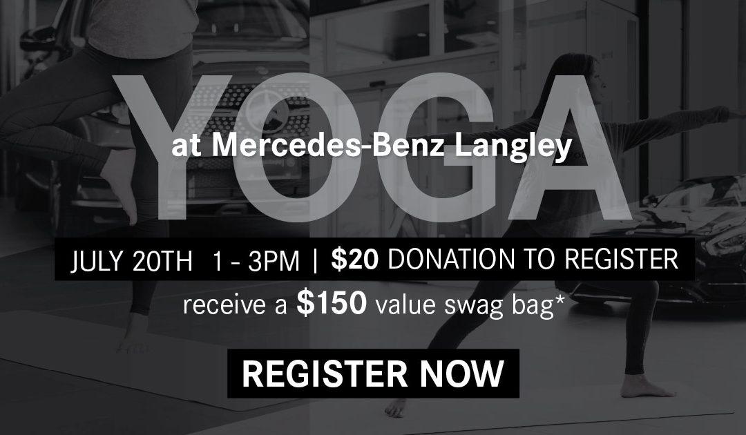 A Unique Yoga Class For Langley Hospital Foundation