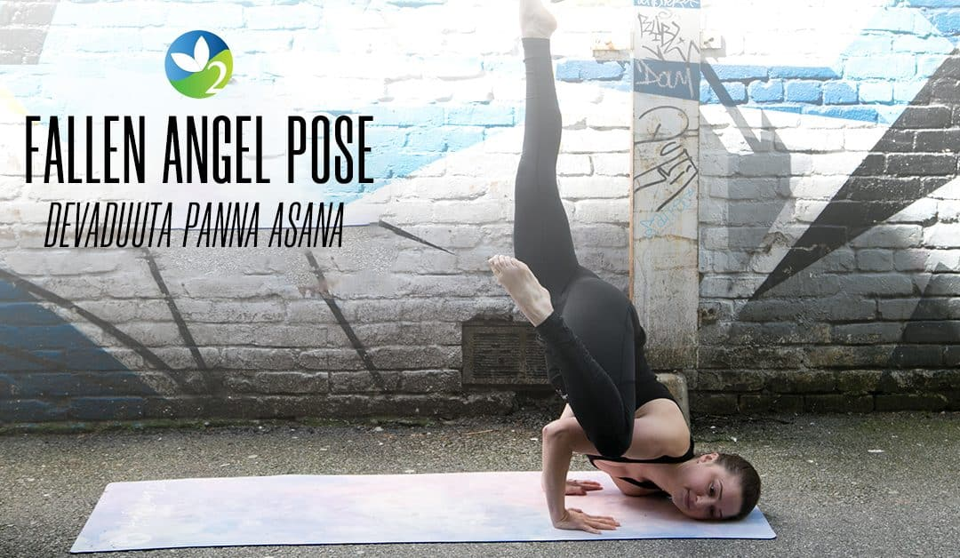 Pose of the Week Guide: Fallen Angel Pose