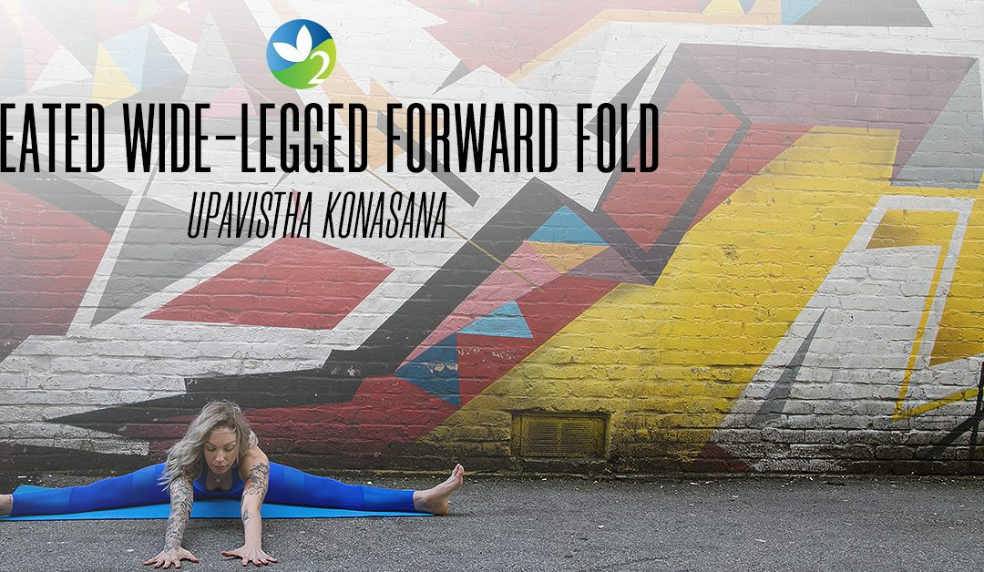 Pose of the Week Guide: Wide-angle seated forward fold