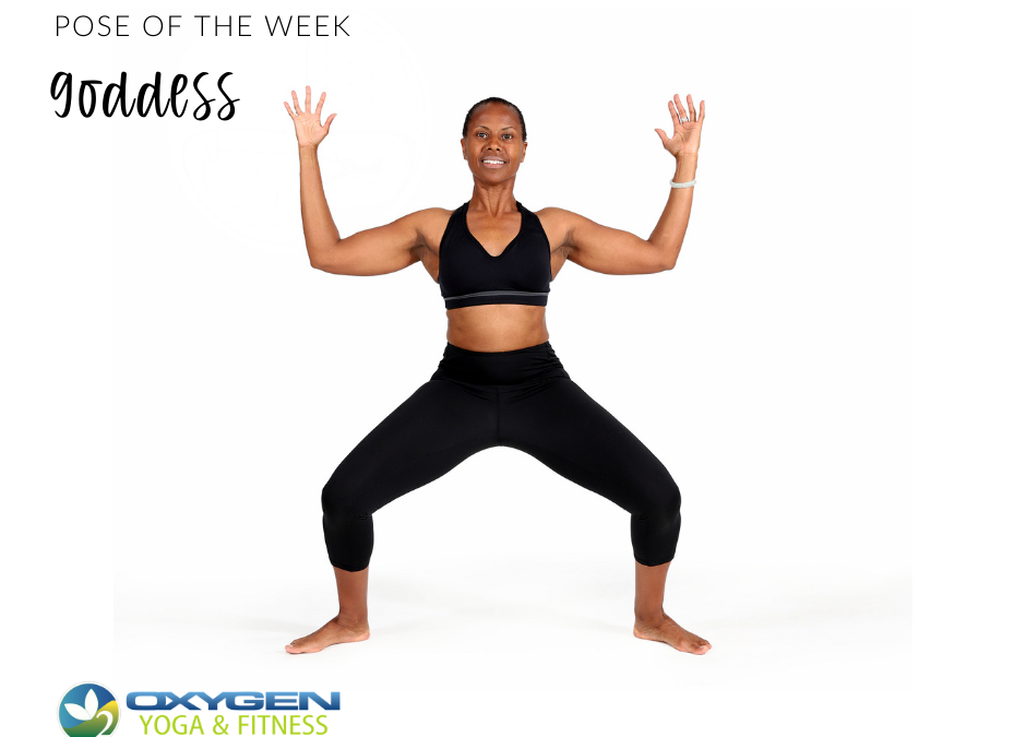 Pose of the Week Guide: Goddess Pose