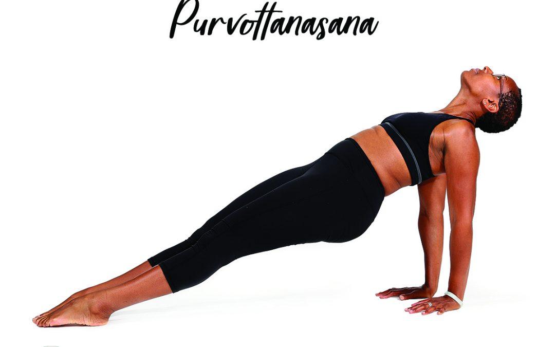Pose of the Week Guide: Upward Plank Pose / Purvottanasana